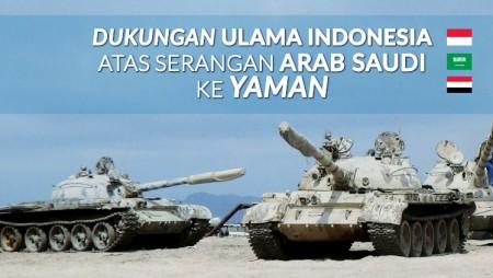 Indonesia Dukung Serangan Arab Saudi ke Yaman