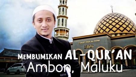 Kegigihan Masyarakat Ambon Mempelajari Al-Qur'an