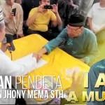 Alhamdulillah, Pendeta Senior Yochanan Jhony Mema, S.Th. Memeluk Islam.