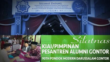 Madanitv.net Ikut Liput Silatnas Pimpinan Pesantren Alumni Gontor