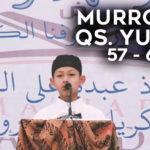Murrotal QS. Yunus Ayat 57-65