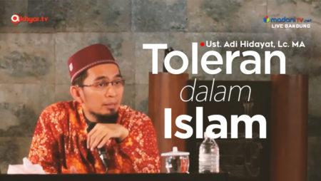 Toleran Dalam Islam