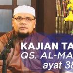 Kajian Tafsir Al-Maidah Ayat 38