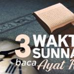 3 Waktu Disunnahkan Baca Ayat Kursi Sehari Semalam